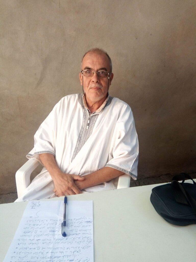 الأستاذ ميهوبي موسى- أستاذ اللغة العربية  في التعليم المتوسط-